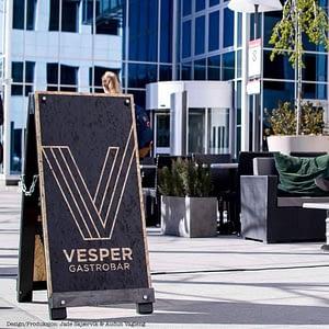 Vesper gastro Bar Signal at Dronning Eufemia