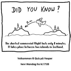 quiz på Vesper